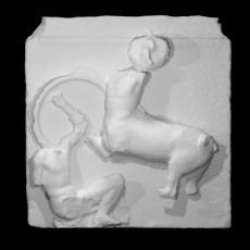 Parthenon South Metope IV