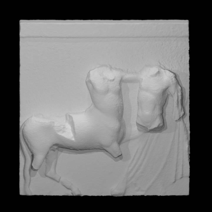 Parthenon South Metope VI
