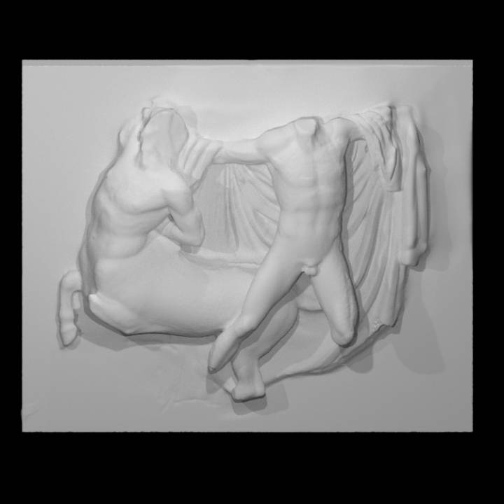 Plaster cast of the Parthenon South Metope III
