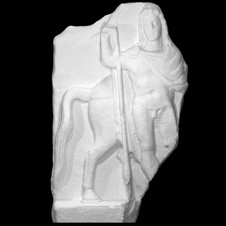 Sculpture of either Castor of Pollux