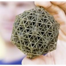QSN - 3D Printer Torture Test Art (Quasicrystalline Spin Network)