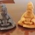 homer buddha print image