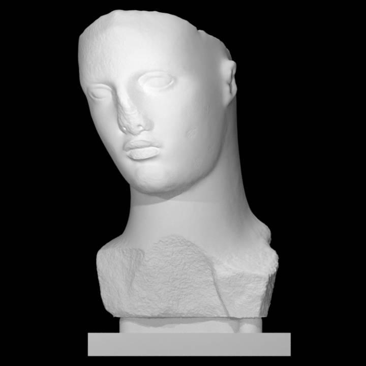 Colossal Head of a Goddess