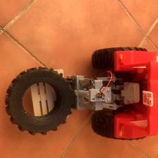 Picture of print of OpenRC Tractor Lifter