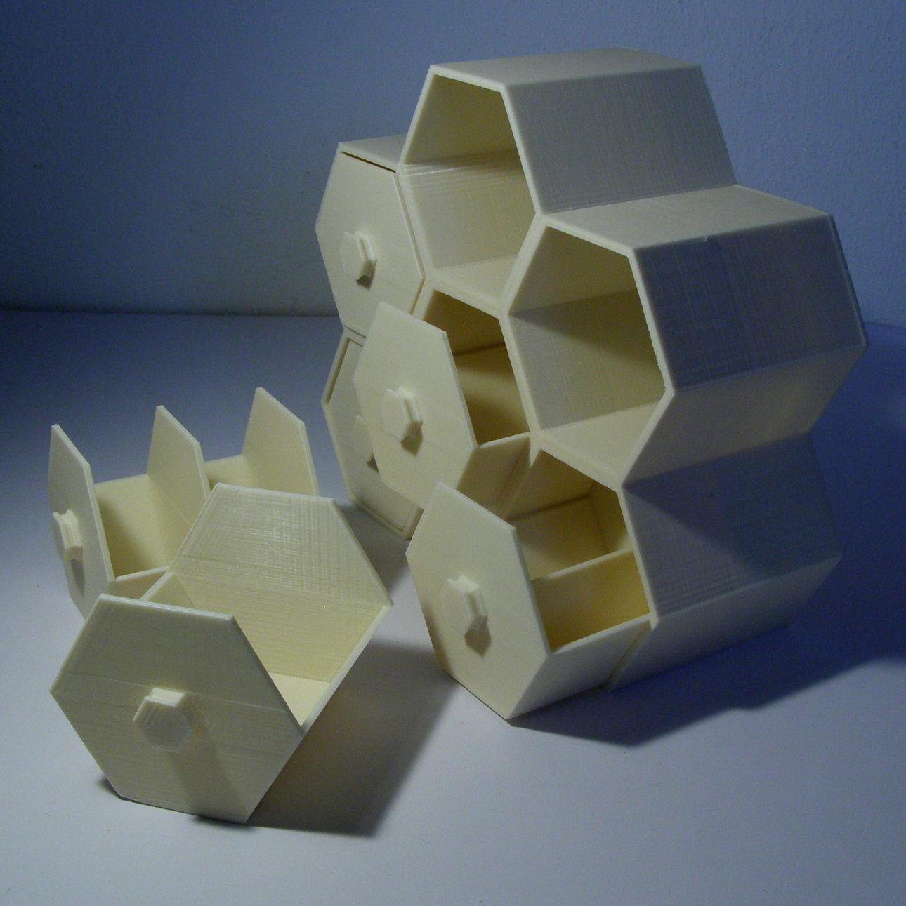 Modular Hex Drawers