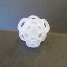 Picture of print of Cubic Gyroid
