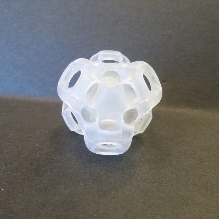 Picture of print of Cubic Gyroid This print has been uploaded by Andy Goeke