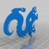 Drexel Dragon Cookie Cutter image