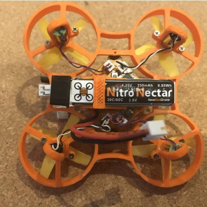 Camera & Battery Mount for the Blade Inductrix, Ragg-E & LynxHeli Frames