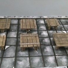 28mm Square Tables