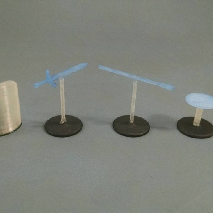 28mm Spell Markers