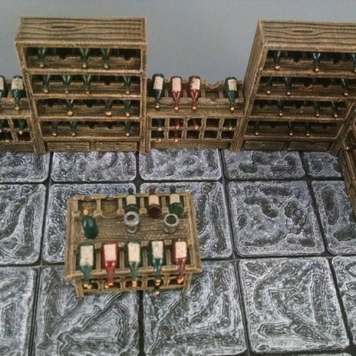 28mm Wine Cellar Accessories