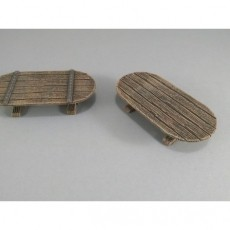 28mm Oval Table