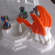 Picture of print of Dragon Fountain