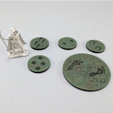 28mm Track Markers