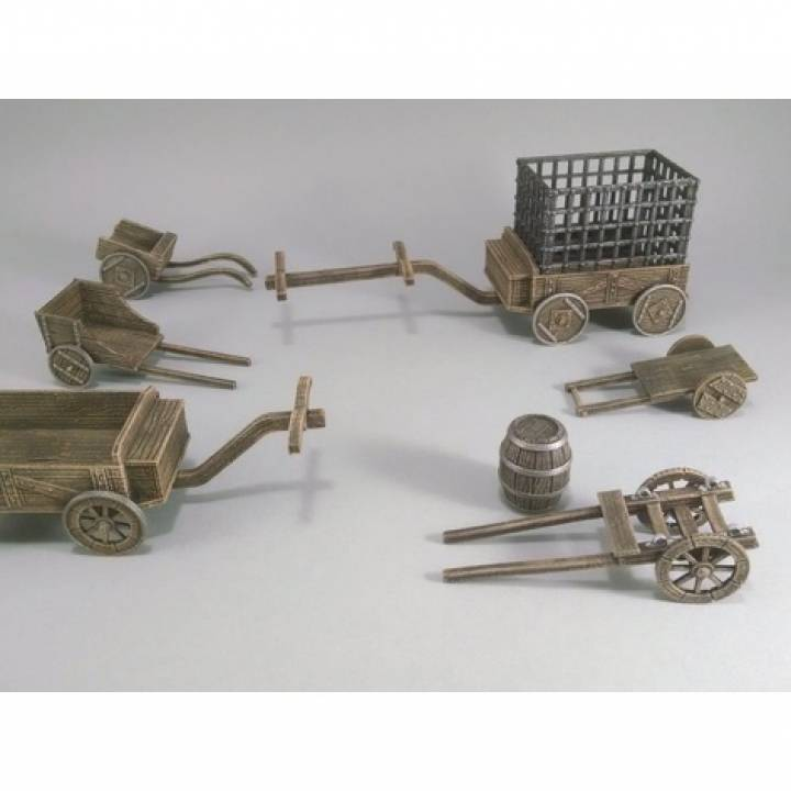 28mm Barrel Cart