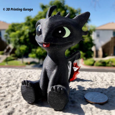 Picture of print of Toothless This print has been uploaded by Elsa