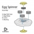 The Egg Spinner - With Hidden Weights image