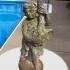 Garden Statue - Boy with Goose image