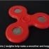 Adjustable Coin Weighted Fidget Spinner image