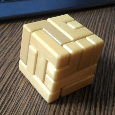 Picture of print of 4x4 Puzzle Cube Esta impresión fue cargada por Volume - private 3D workshop