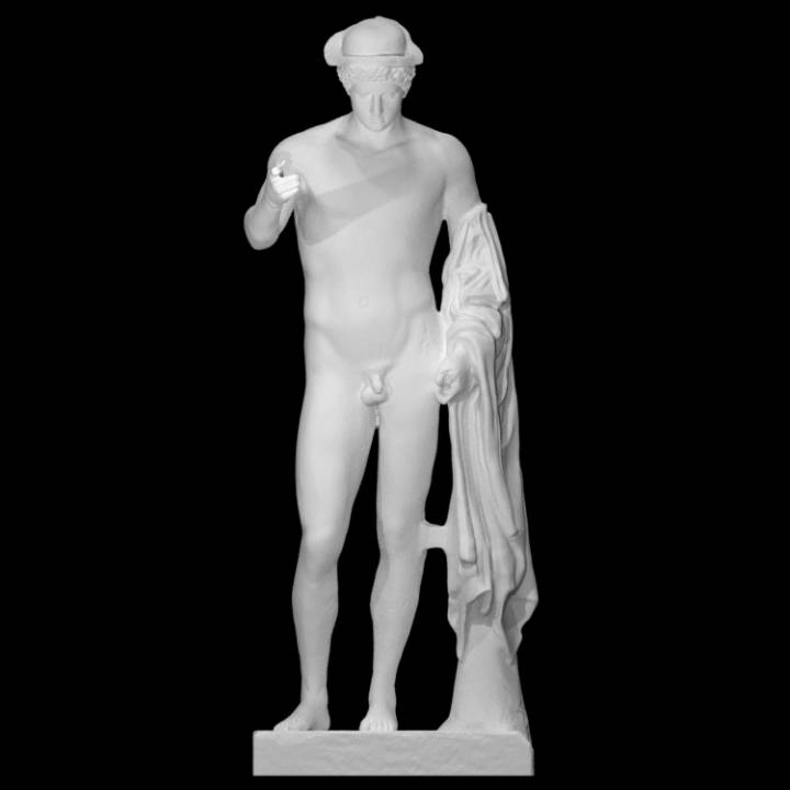 Statue of Hermes Loghios