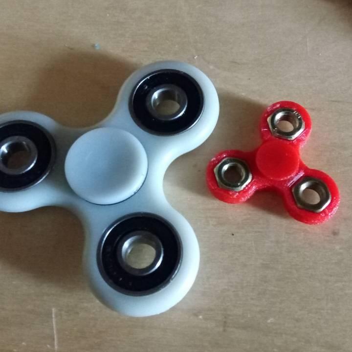 Fidget spinner mini