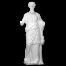 Marble Statue of a Woman with Head