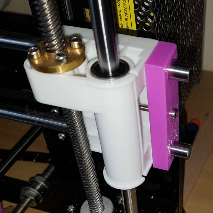Anet X-Axis tensioner for extended x-axis bars