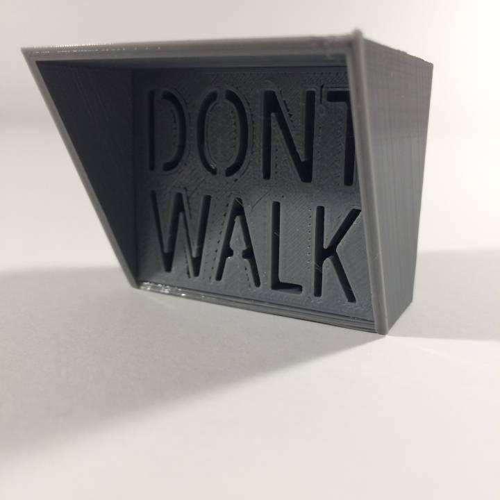 Pedestrian Signal (enlarged)
