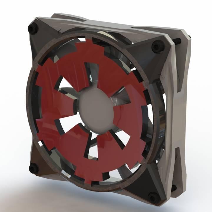 Star Wars Galactic Empire 120mm Fan Shroud