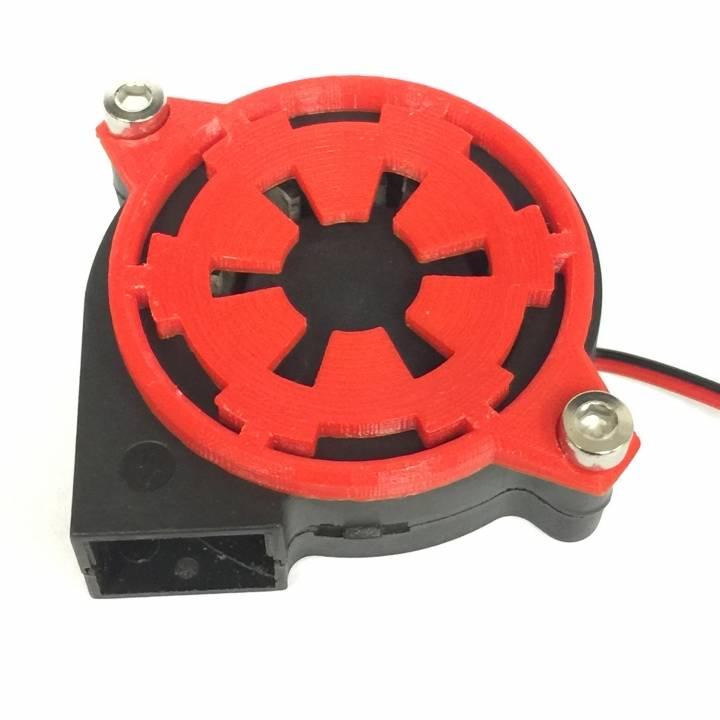 Centrifugal Fan Icon : D printable star wars empire mm centrifugal fan shroud
