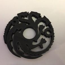 House Targaryen Fidget Spinner