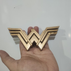 Picture of print of Embleme Wonder Woman