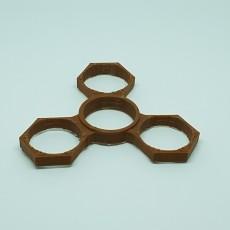 Simple Yet Cool Hexagon Fidget Spinner