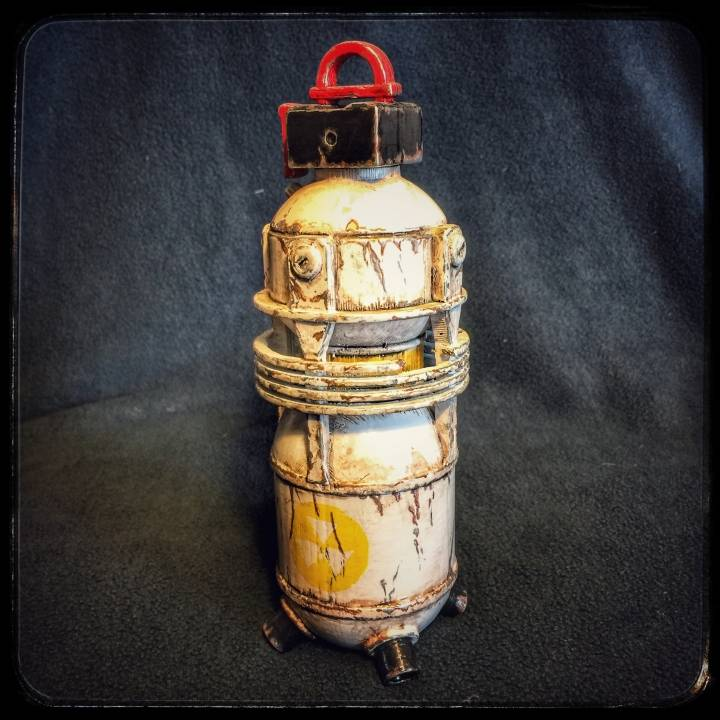 3d Printable Fallout 4 Nuka Grenade By Raleigh Shade