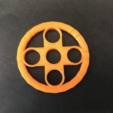 Fidget spinner ring