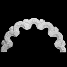 Architectural fragment from The Jain Temple