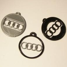 Audi porte-clefs