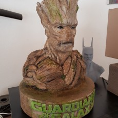 Picture of print of Stand for Groot bust