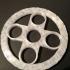 Fidget spinner ring image