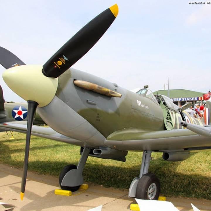 Spitfire Propeller 1:4 scaled model