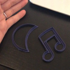 Picture of print of Music cookie cutter