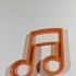 Music cookie cutter image