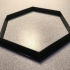 hexagon cookie cutter image