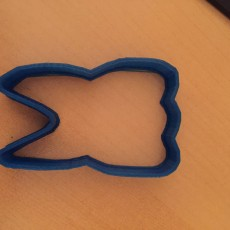 Picture of print of tooth cookie cutter