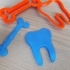 tooth cookie cutter image