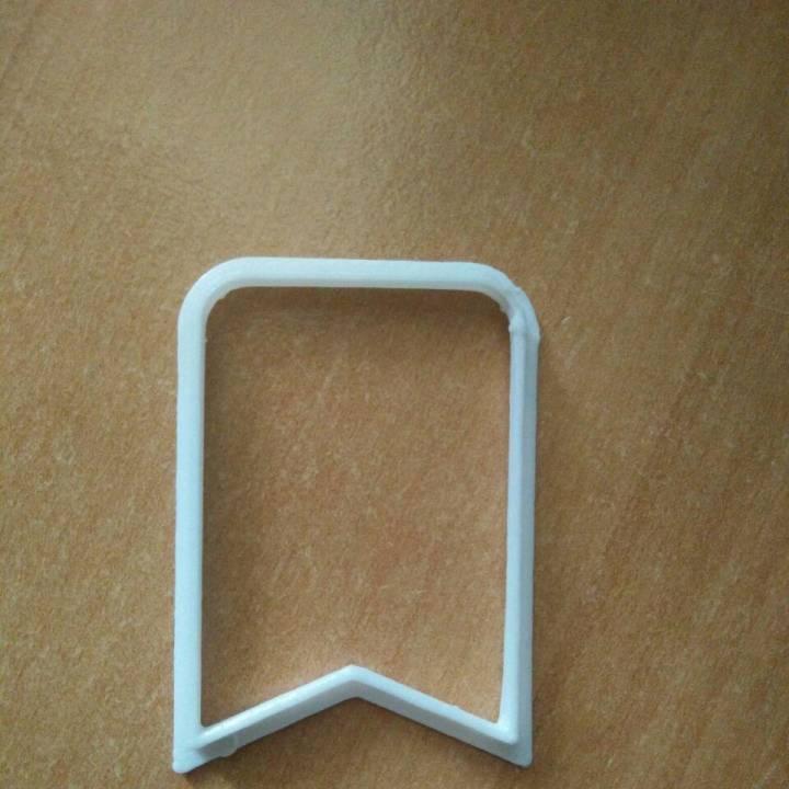 bookmark cookie cutter