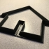 house cookie cutter image