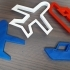 plane cookie cutter image